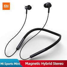 Original <b>Xiaomi Mi</b> Neckband Sports <b>Bluetooth</b> Earphone Wireless ...