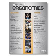 Ergonomics Informational Poster