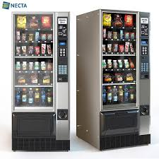 Electronics Vending Machine Delectable Necta Melodia Vending Machine 48D Model For Download CGSouq