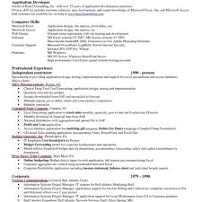 Sas Developer Sample Resume Collections Account Manager Sample Resume