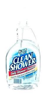 shower cleaner diy shower cleaner spray shower clean scrub free clean shower spray oz shower head