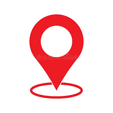 Red Maps Pin. Location Map Icon. Location Pin. Pin Icon Vector. Stock Illustration - Illustration of apps, communication: 140111691