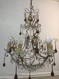 italian murano glass chandelier 1960s 2