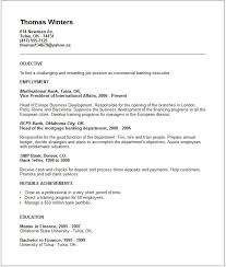 Tips For Resume Objective Bank Executive Resume Examples Top 10 Resume Objective