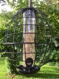 crow and squirrel proof seed feeder