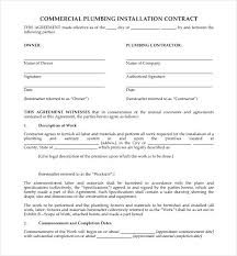 with material construction agreement free construction contract forms template free construction contract