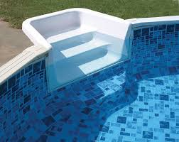 Outdoor Leisure Above Ground Pool Steps Entry Systems from Doughboy