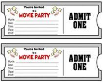 Movie Night Invitation Templates 19 Best Movie Party Invitations Images Invitations Movie Party