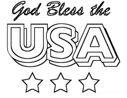 Small Picture Patriotic coloring pages god bless usa ColoringStar