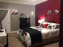 Luxurius Red Black And Grey Bedroom 74 Remodel Home Design Furniture  Decorating With Red Black And