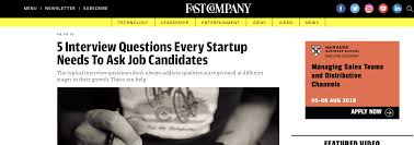 Good Interview Questions To Ask A Business Owner Fast Company Shares Ecash Co Founders Key Interview
