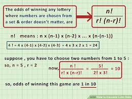 Ghana Lottery Chart 3 Ways To Calculate Lotto Odds Wikihow