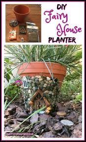 Here's how to make a sweetly whimsical DIY fairy house planter from a terra  cotta pot