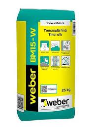 Monplast Trans - Tencuiala fina, alba - Weber BM15-W👉... | Facebook
