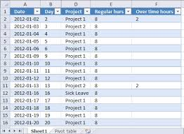 excel project timesheet monthly time sheet by project