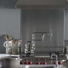 Kitchen Pot Filler Faucets Kohler Hirise Single Hole Wall Mount Pot Filler Kitchen Sink