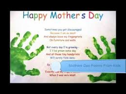 Small Picture Mothers Day Poems From Kids YouTube