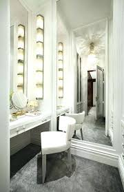 dressing table with lights mirrors