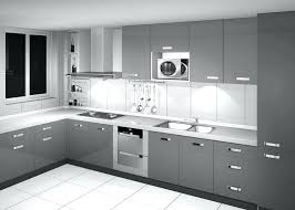 gray kitchen backsplash image of trends on cabinets white subway tile