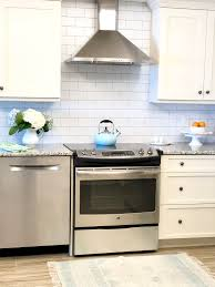 every who comes in here thinks it is real subway tile it has brightened up the kitchen so much and for under 100 we got a fresh clean updated look
