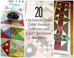 Christmas Quilt Table Runner Patterns And Easy Christmas Recipes ... & Christmas Quilt Table Runner Patterns And Easy Christmas Recipes  Favequiltscom Christmas Quilt Block Patterns Easy Christmas Adamdwight.com