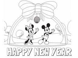 New years eve coloring pages. Printable New Year Coloring Pages Free Coloring Sheets New Year Coloring Pages Disney Coloring Pages Printables Mickey Mouse Coloring Pages