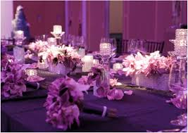 Beautiful Reception Decorations Purple Wedding Inspiration There Are Also Purple Shoes In Many