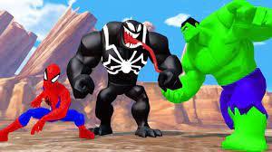 Nhạc Thiếu Nhi Tiếng Anh Vui Nhộn | Người nhện, người khổng lồ xanh Hulk...