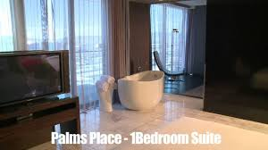 One Bedroom Suites Las Vegas One Bedroom Suite At Palms Place Meltedlovesus