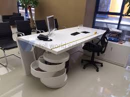 round office desk. Cozy Design Round Office Desk Contemporary Pursuit Table Bundle NaturalGray A O