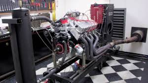 572 CID Big Block Ford Kaase P51 Head 900 HP @ 7000 rpm all motor ...