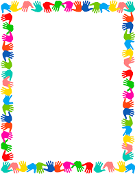 Small Picture Handprint clipart frame Pencil and in color handprint clipart frame