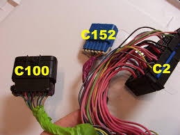 vortec wiring harness info this picture is missing c153 but is right amoung these other plugs