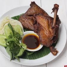 1 liter santan dari 1 butir kelapa ; Bebek Goreng Surabaya Gurih Praktis Istimewa Resep Resepkoki