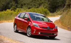 2014 Toyota Prius v - Information and photos - ZombieDrive
