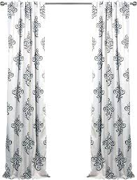 damask shower curtain canada black and white damask curtains damask blackout thermal rod pocket single curtain