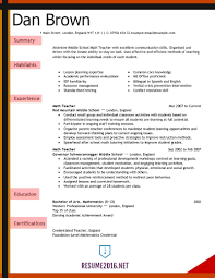 Free Teacher Resume Templates Cover Letter Teacher Resumes Templates Free Teacher Resume 2