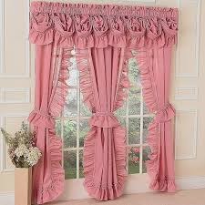 gallery of ruffled priscilla curtains luxury hot pink curtains for bedroom awesome size teal living room
