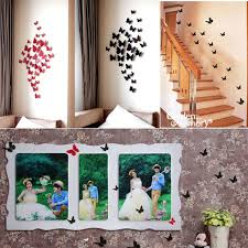 Butterfly Home Decor Accessories 100 Pcs 100D Wall Sticker Decals Butterfly Stickers Home Decor DIY 5