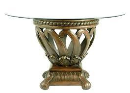 glass top circular dining table glass top round dining table glass top dining table round glass