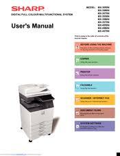 sharp mx 3070n. sharp mx-3070n user manual mx 3070n c