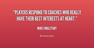 Great Coach Quotes Unique How About Coaches Quotes On QuotesTopics