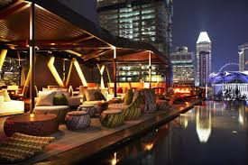 Naumi Rooftop Bar A tranquil oasis among the dazzling skyscrapers of  Singapore, the rooftop bar