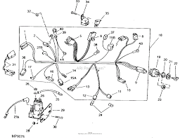 john deere parts diagrams, john deere sx75 riding mower (9 h p ignition wiring harness for ford f250 john deere parts diagrams, john deere sx75 riding mower (9 h p electric start) pc2106 sx75 & sx95 main wiring harness and ignition switch electrical