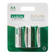 Yards U0026 Beyond AA Solar Light Replacement Battery BTNCAA9004 Solar Light Batteries Aa