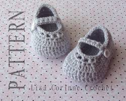 Crochet Baby Shoes Pattern New Crochet Baby Booties PATTERN Baby Mary Jane Shoes Crochet Etsy