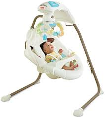 Amazon.com : Fisher-Price Cradle 'n Swing with AC Adapter, My Little ...