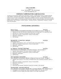 Staff Adjuster Sample Resume Best Sample Resume Medical Claims Examiner Fruityidea Resume