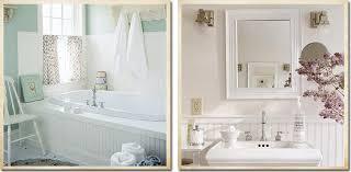 Rivestimenti Bagno Verde Acqua : Ispirazione per il bagno shabby chic interiors