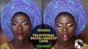 nigerian bridal makeup tutorial yoruba bride